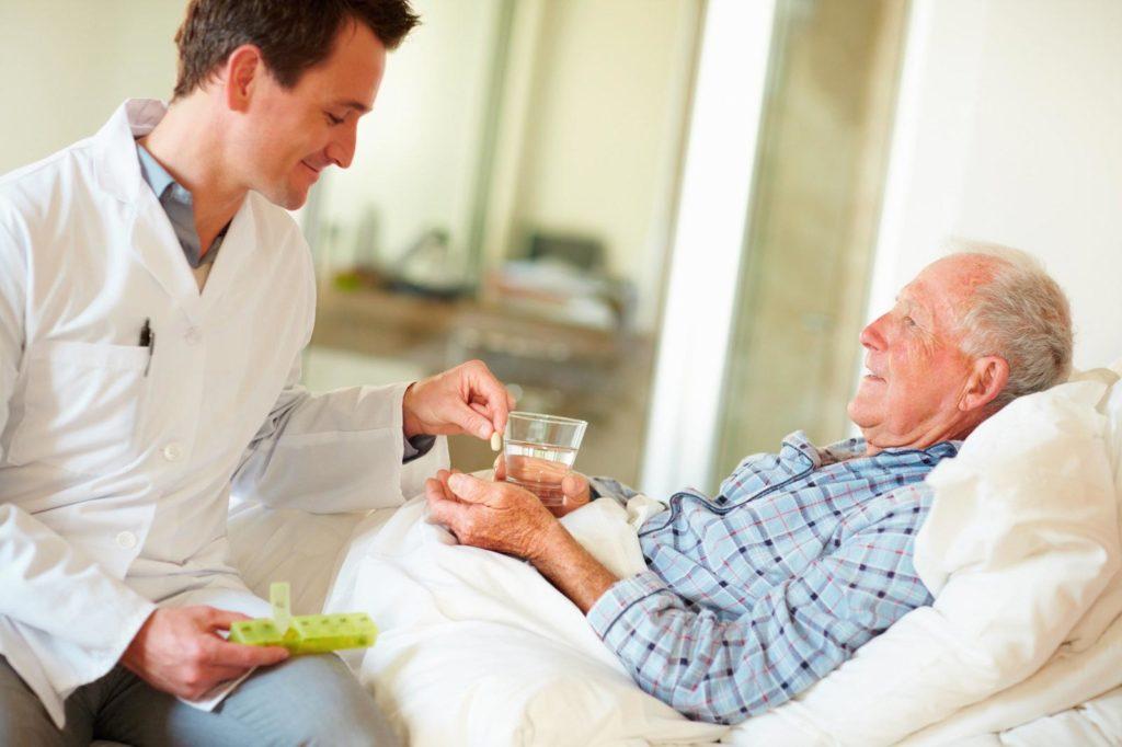 пристарелый пациент