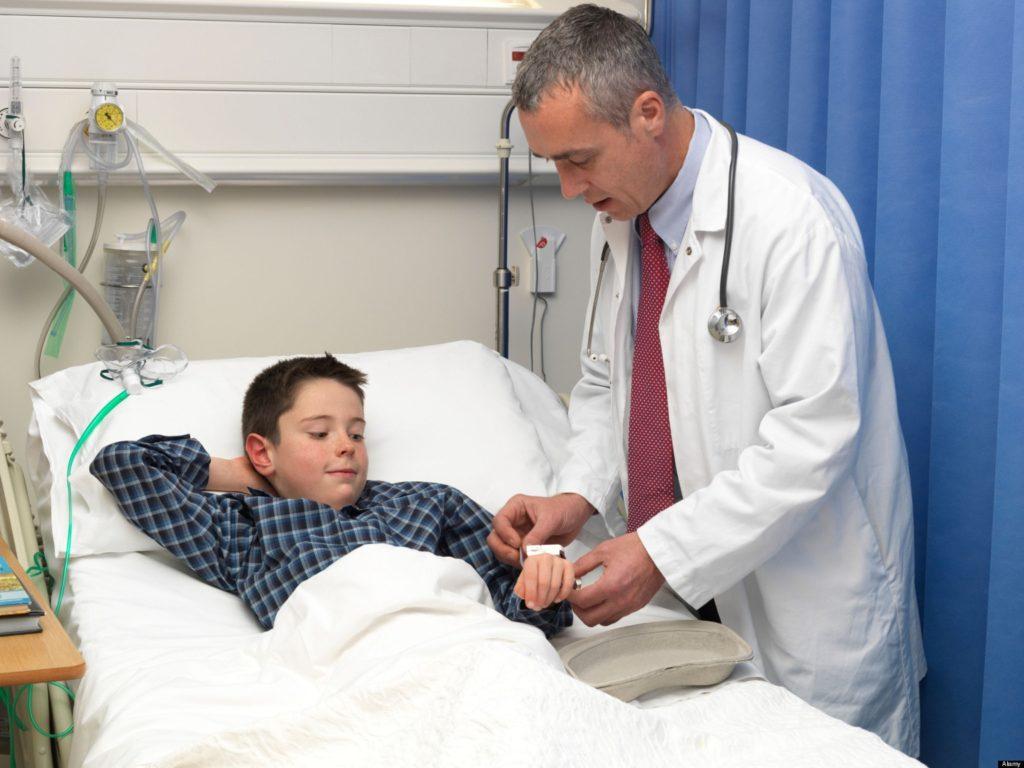 ребенок пациент